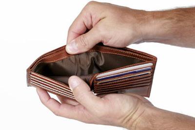 Сообщение о задолженности отправляется виновной стороне