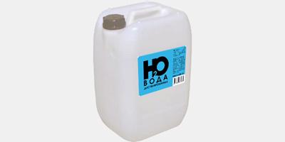Хранение дистиллированной воды