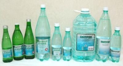 Типы минеральных вод