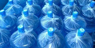 Упаковки бутилированной воды