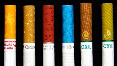 Органолептические свойства при хранении сигарет
