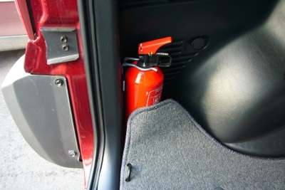 Автомобильный огнетушитель-срок годности