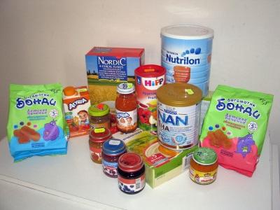 Состав детского питания