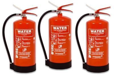 Срок годности водного огнетушителя