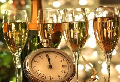 Выбор шампанского по сроку годности