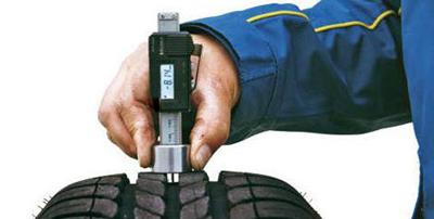 Проверка протектора шин на износ