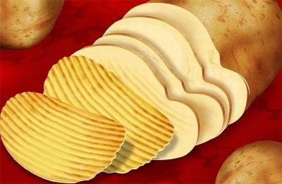 Количество картофеля в Lays