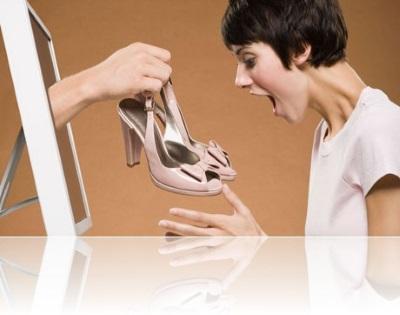 Возврат туфель онлайн