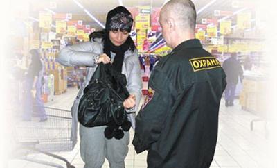 Есть ли право у охранника магазина проверять Вашу сумку?