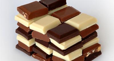 Различные виды шоколада по составу