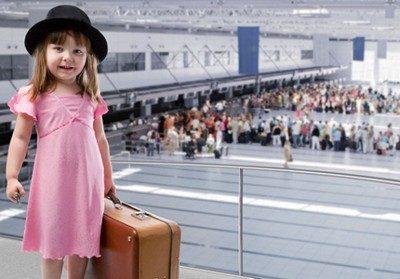 Перелет ребенка на самолете