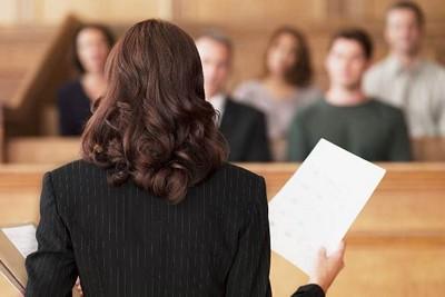 Выступление в суде за другого человека