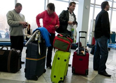 Перевозка багажа в самолете Аэрофлота