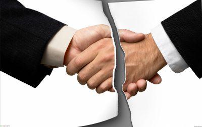 В связи с чем можно расторгнуть договор