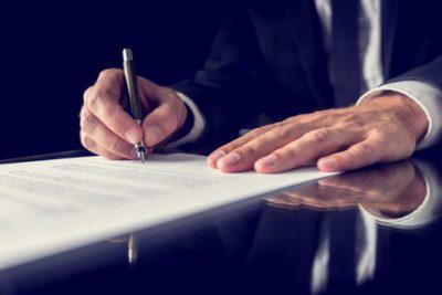 Доверенность от директора на право подписи договоров